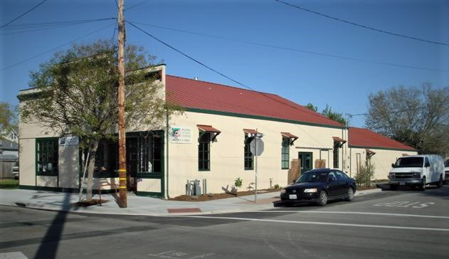 Preferred Sonoma Caterers' building at 416 East D Street in Petaluma