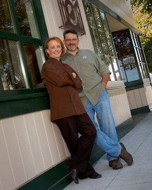Jim and Amber Balshaw, Owners of Preferred Sonoma Caterer